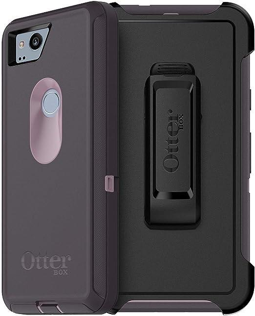 timeless design 3f0af a6d08 OtterBox Defender Series Case for Google Pixel 2 - Non-Retail Packaging -  (Purple Nebula)