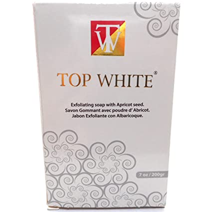 Amazon.com : Top White Lightening Exfoliating Soap (200G) : Facial Soaps : Beauty