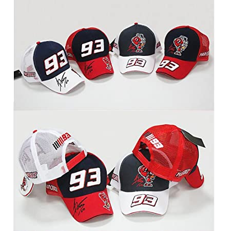Amazon.com : LOVEBLING Blinglove New F1 Moto GP Marc Marquez 93 Cap Baseball Racing Sport Motorcycle Hat 6 Style : Sports & Outdoors