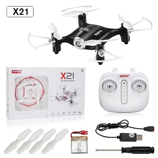 Juguetes De Control Remoto Syma X21 RC Quadcopter Drone UFO Mini ...