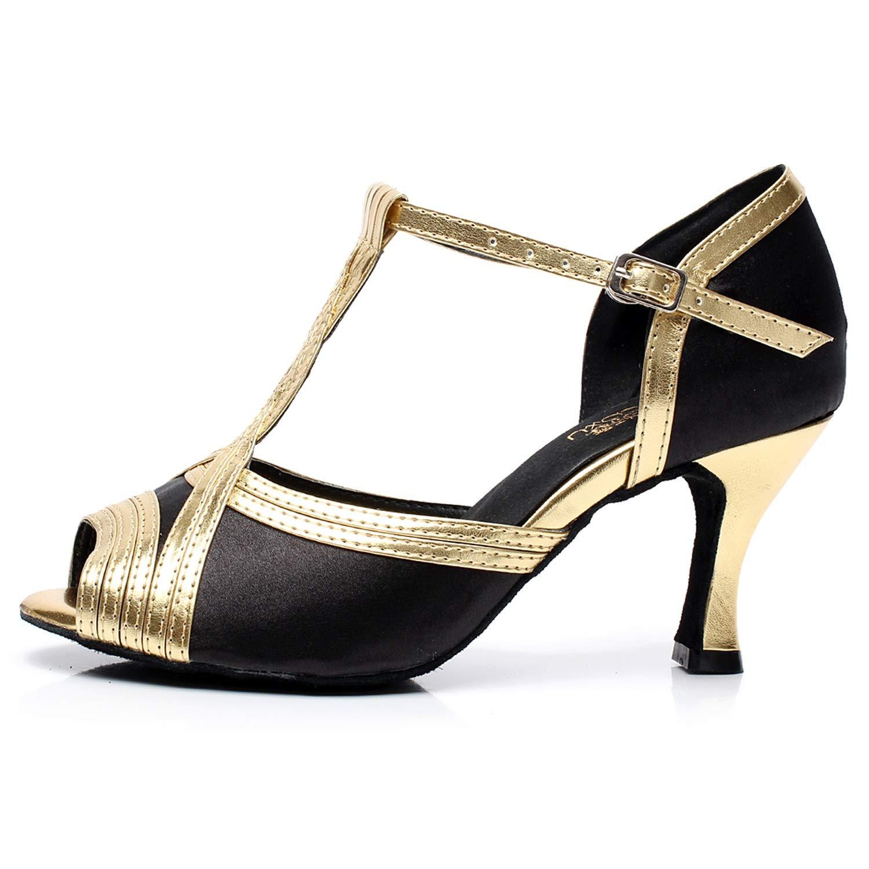 Elobaby Frauen Tanzschuhe Knöchelriemen Leder Ballsaal Schnalle Lackleder Latin Tango Tango Tango Modern (Größe 33-45 ) B07M887K2W Tanzschuhe Wunderbar 5cc69a