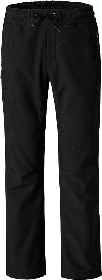 Amazon Com Wantdo Pantalones De Esqui Impermeables Con Forro Polar Para Mujer Clothing