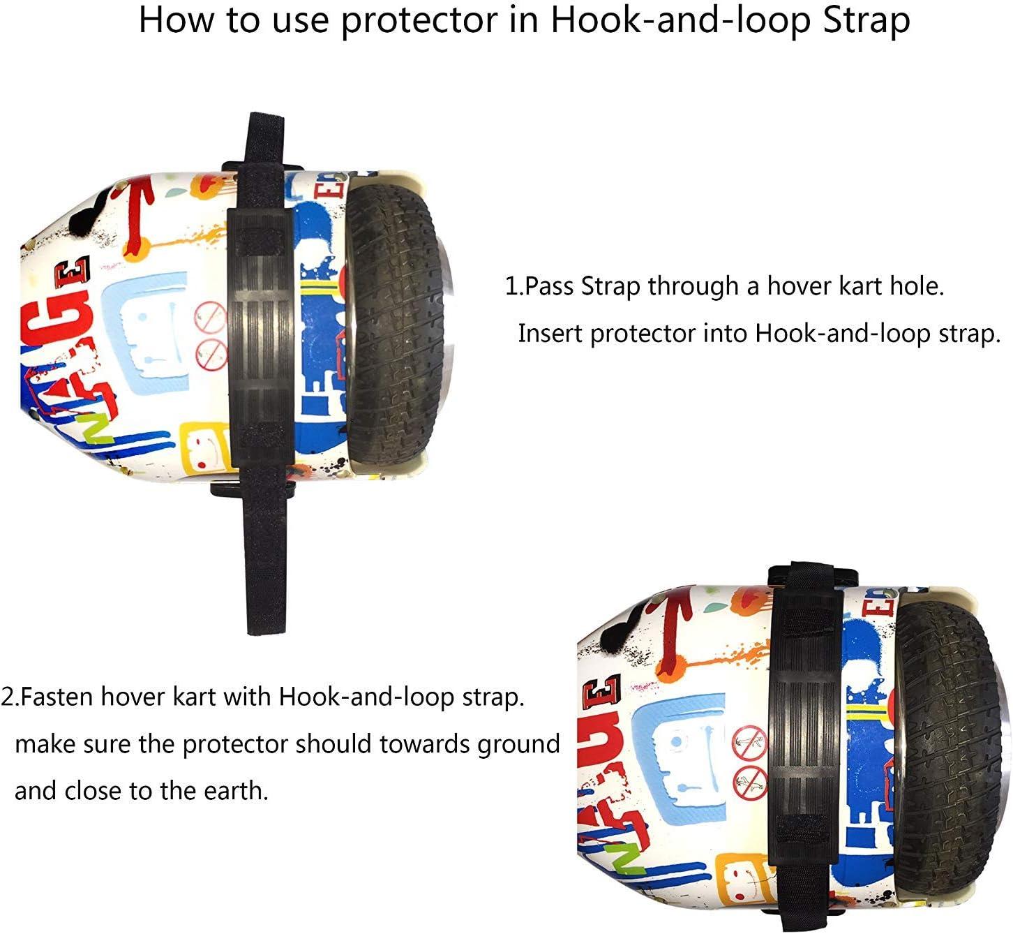 Compatible con Hoverboards de 2 Ruedas para derrapar y Hacer Trucos Kart de Drift con suspensi/ón SILI/®
