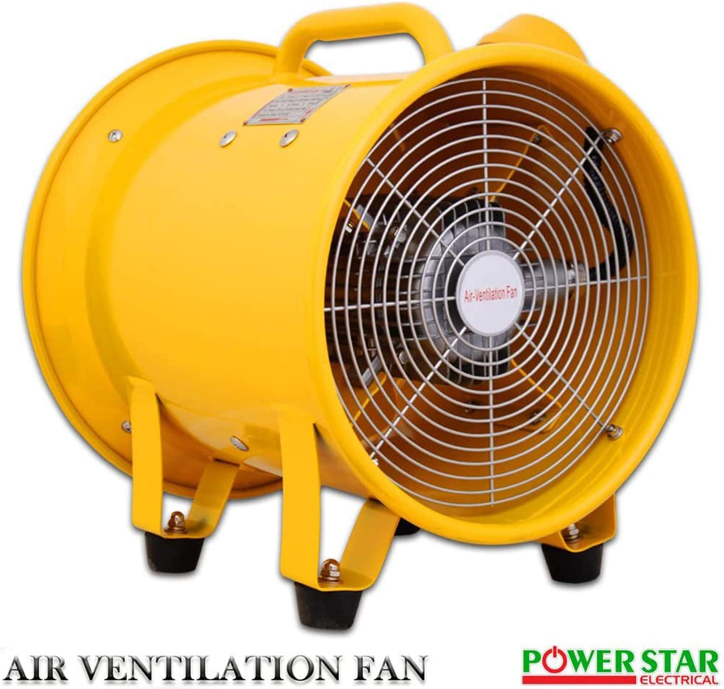 Details about  /ATEX Axial Portable Ventilator Explosion Proof Fan 12/'/'370W Extractor Fan Blower
