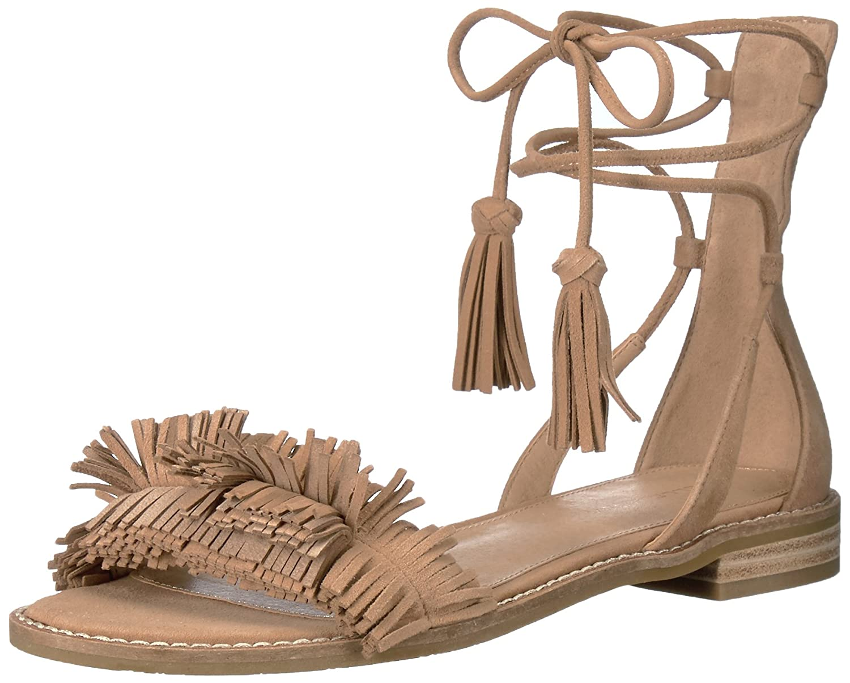 Pelle Moda Women's Harah Flat Sandal B01MDRFW1P 6.5 B(M) US|Tan