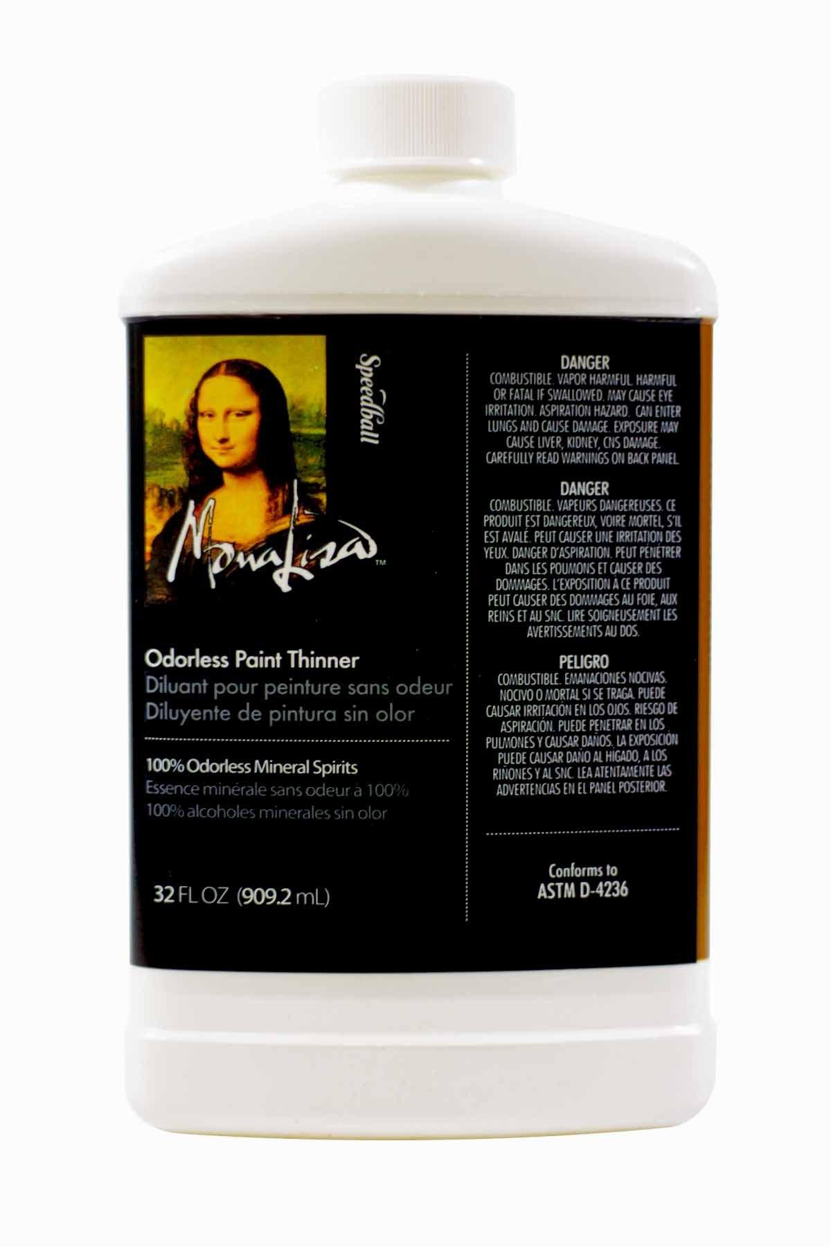 Mona Lisa Odorless Paint Thinner-32oz