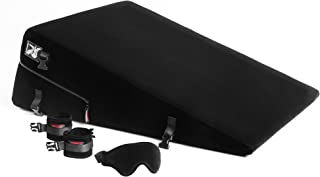 product image for Liberator Black Label 24-Inch Ramp Short With Cuff Kit, Black Microfiber