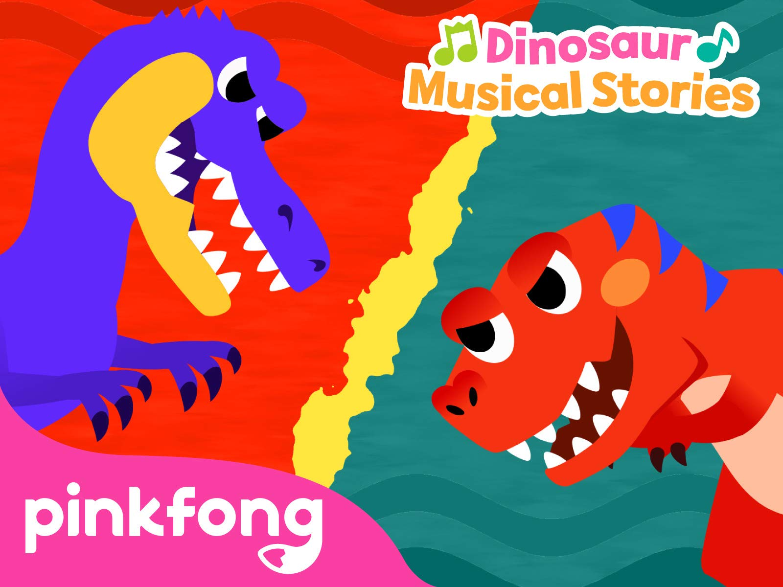 Pinkfong! Dinosaur Musical Stories on Amazon Prime Video UK