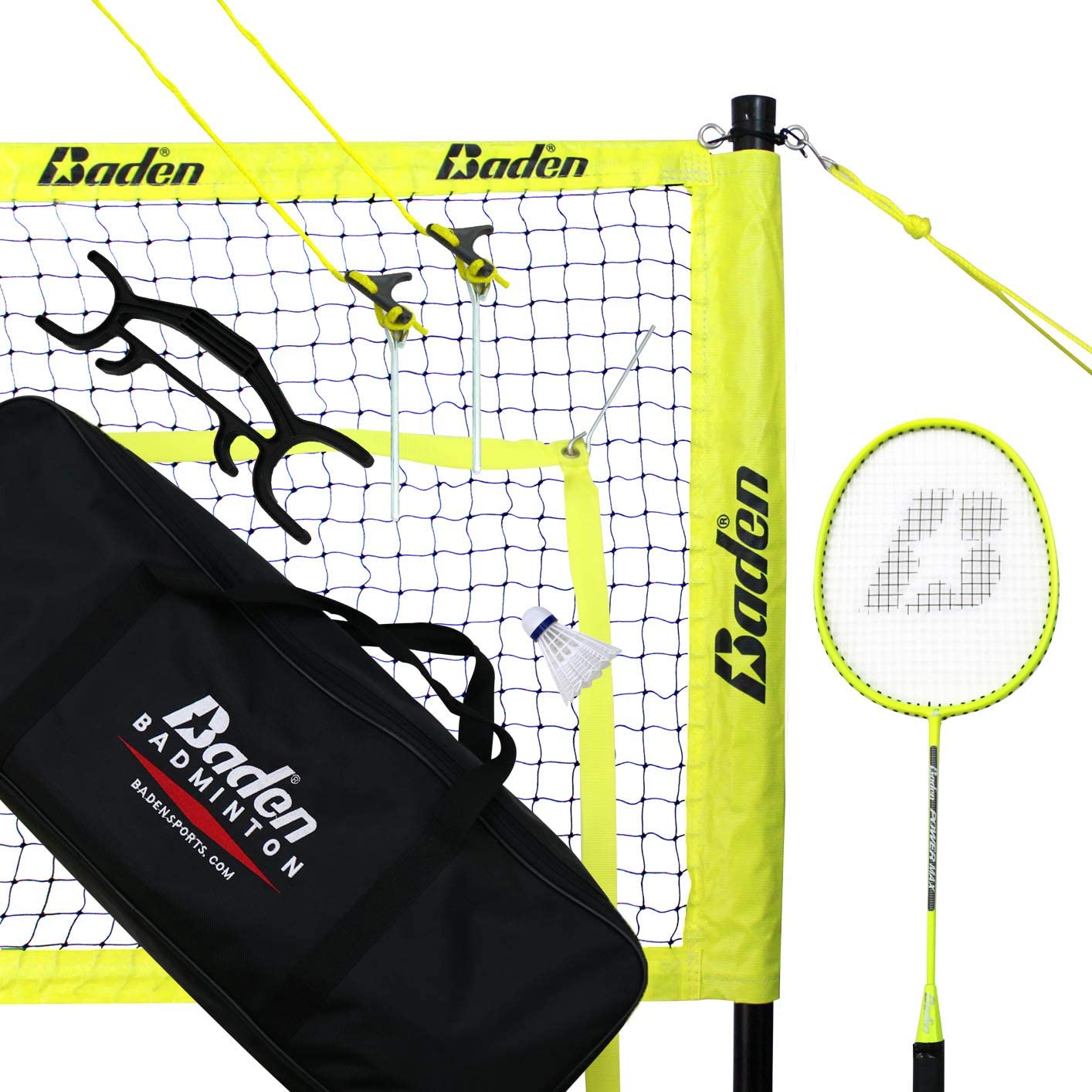 Baden Champions Badminton Set : Volleyball Net Set : Sports & Outdoors