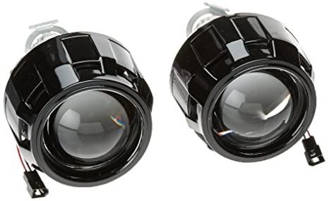 Amazon Com 2pcs Mini Bi Xenon 2 5 Car Projector Lens High Low Beam
