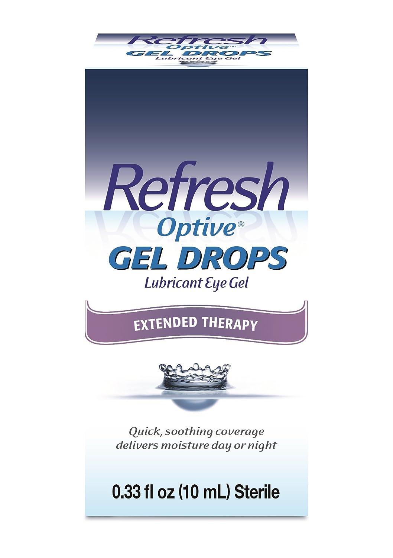 Refresh Optive Gel Drops Lubricant Eye Gel 0.33 oz