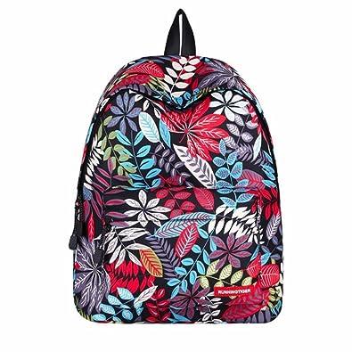 Rosennie Kinder Jungen Mädchen Print Outdoor Rucksack Bookbag ...
