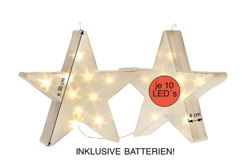 2er-Set Hologramm-Weihnachtsdeko,Weihnachtsbeleuchtung, LED ...