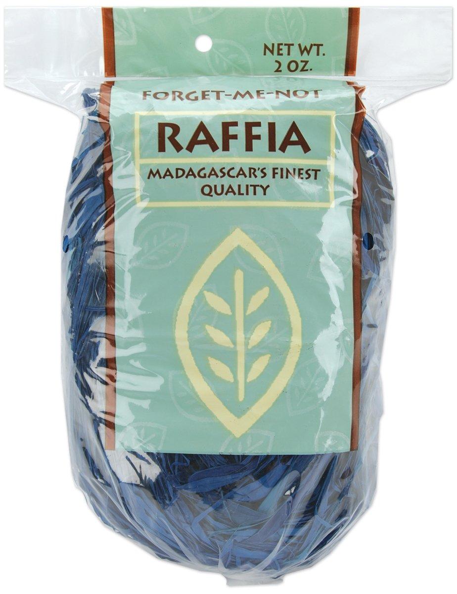 Royal Blue Joseph M 2-Ounce Stern Dyed Raffia