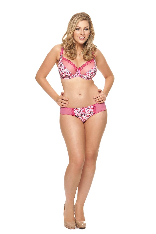 Curvy Kate Lottie Balcony Women s Bra Raspberry 28D  Amazon.co.uk  Clothing aa3d04dd0