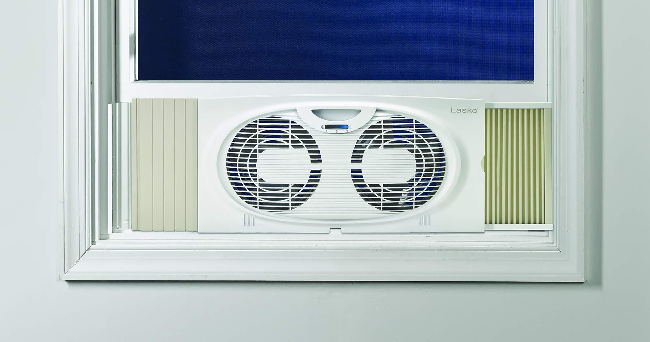 Lasko Twin Window Fan White by Lasko