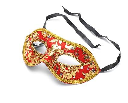 Cosplay] accesorio veneciano m?scara de disfraces teatro traje ...