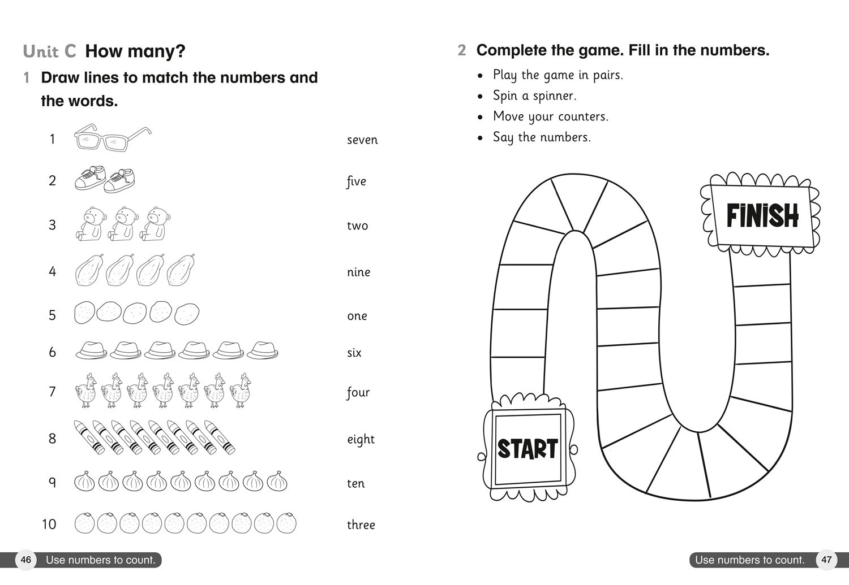 Cambridge Primary English as a Second Language Workbook: Stage 1 (Collins International Primary ESL)