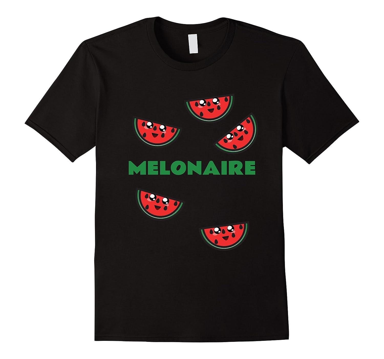 Melonaire - Funny Watermelon Pun T-Shirt-CL
