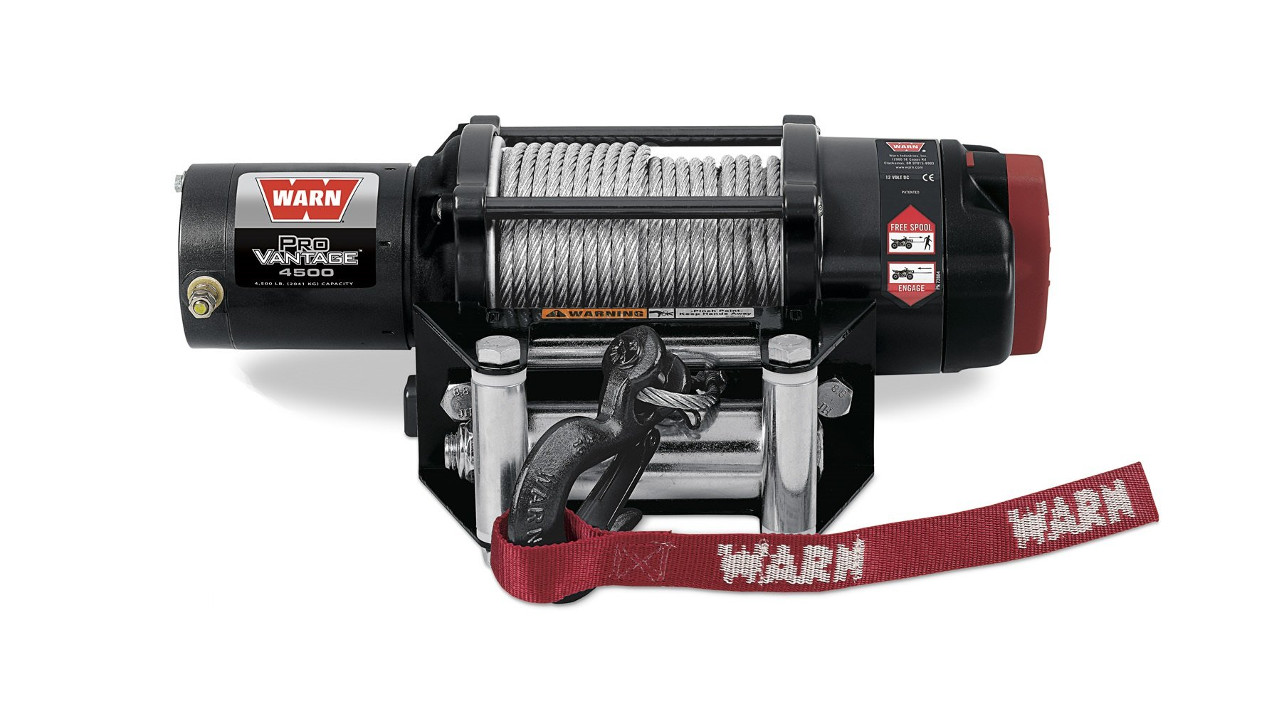 WARN 90450 ProVantage 4500 Winch - 4500 lb. Capacity