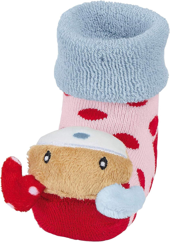 Sterntaler M/ädchen Socken Baby-Rassels/öckchen Hase