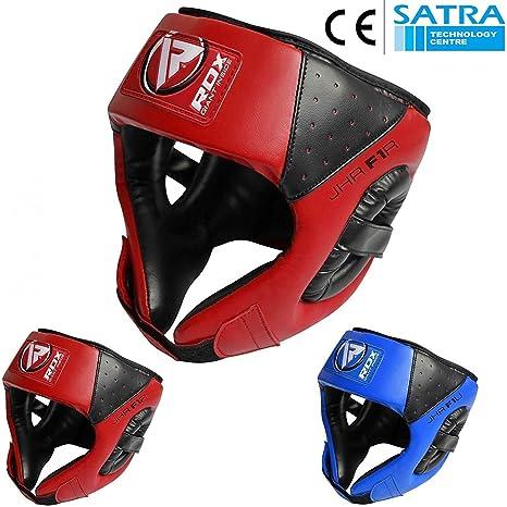 RDX Kids Boxing Gloves Head Guard Martial Art Training MMA Junior Protector CA