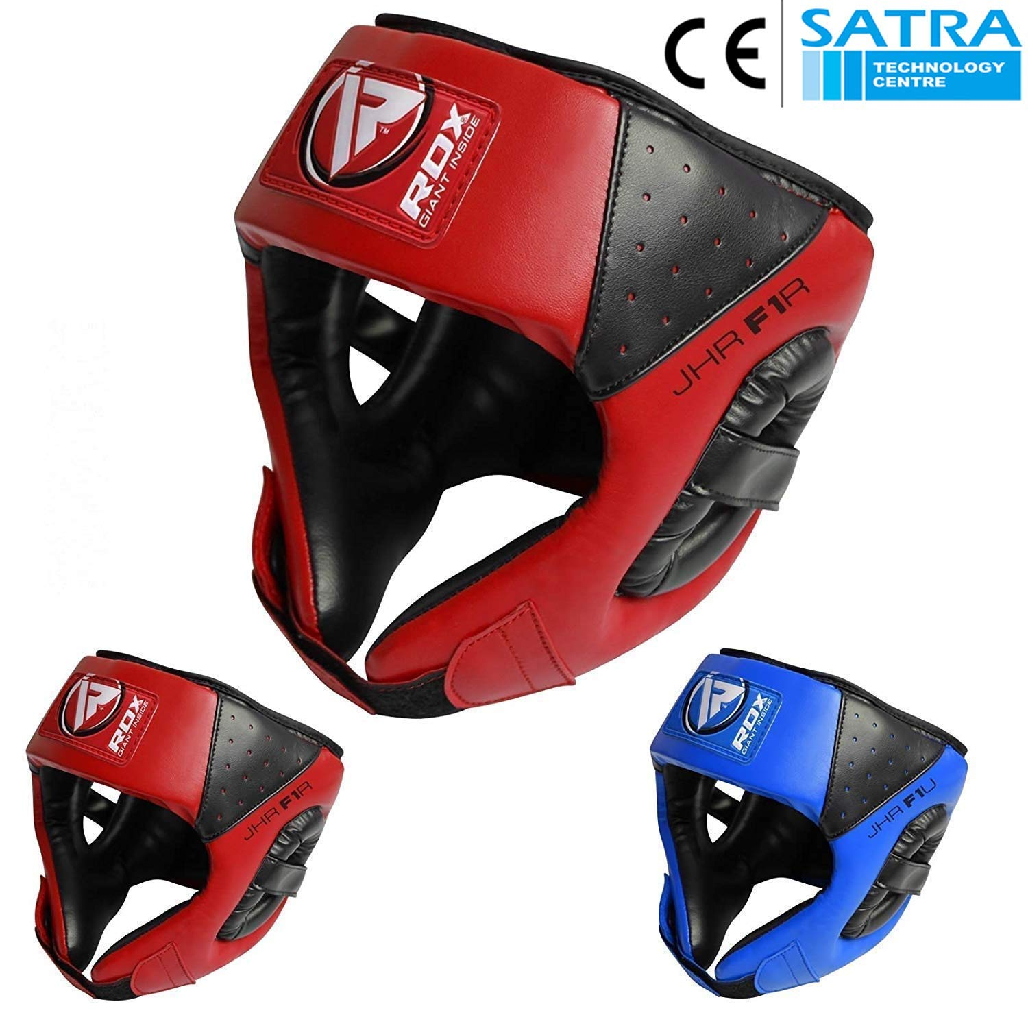 RDX Boxing Headguard Kids MMA Junior Headgear for Fighting Kickboxing Head Guard Training Sparring Martial Arts Youth Head Protector for Children Muay Thai Taekwondo Karate Judo (CE Certified) by RDX