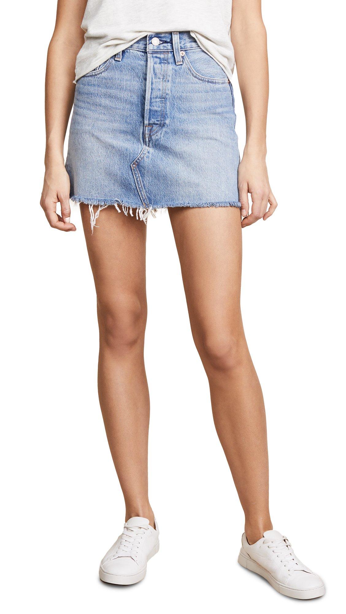 Levi's Women's Deconstructed Skirt, Desperate Measures, 29