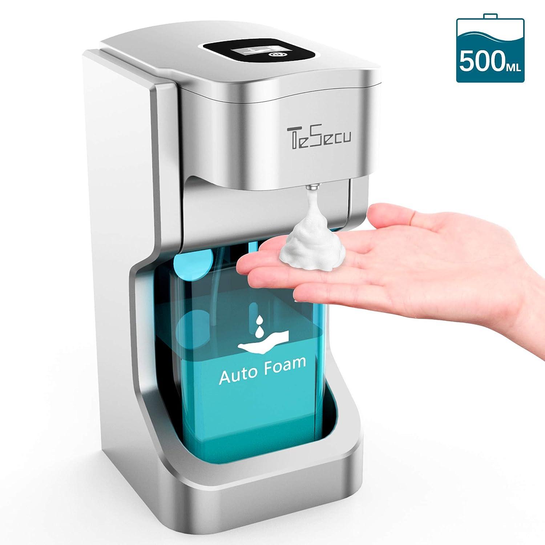 Daskoo Foam Soap Dispenser 280 ml ir motion sensor touchless automatic foaming soap dispensers for kitchen bathroom Rechargeable