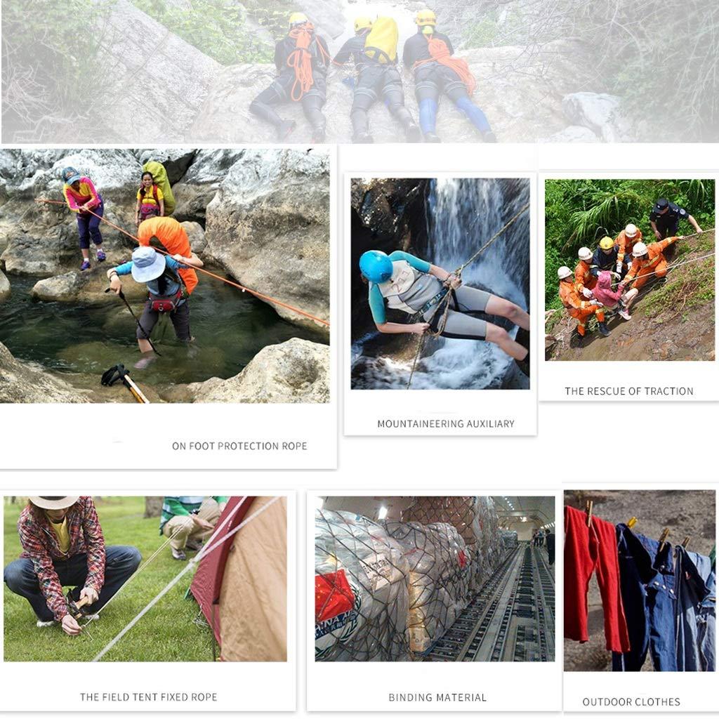 Seil Outdoor Kletterseil Durchmesser -6mm, rot 10m, 15m, 20m, 20m, 20m, 25m, 30m, 35m, 40m, 45m, 50m Exploration Rettung Bindeseil, hochfeste Seide Polyester (größe   10m) B07J45SQ35 Einfachseile Bekannt für seine schöne Qualität ab95ec