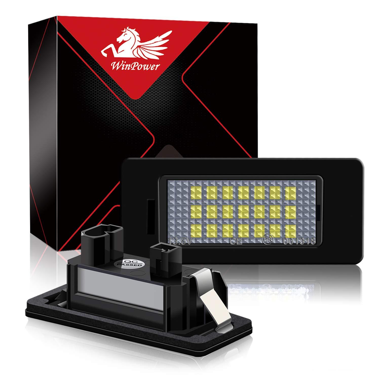Win Power Fehlerfrei LED Lizenz Kennzeichenbeleuchtung Montage Bright Wei/ß Lampen Leuchtmittel