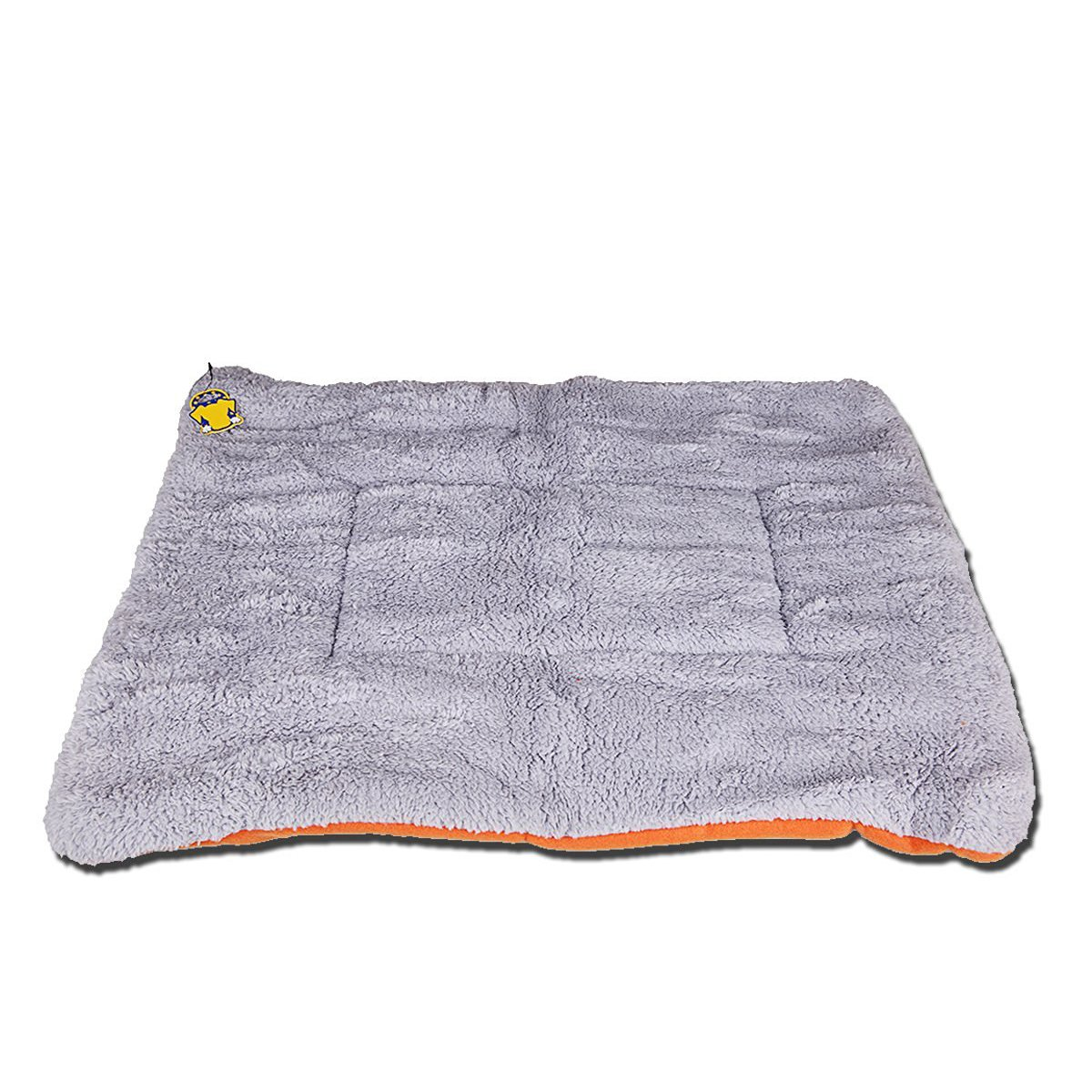 PETPAWJOY Dogs Blanket, Crate Pad Cat Bed Dog Crate Cushions Pad Washable Filling Pads Soft Furry Pet Bed Mat 33x31x1.5 inch