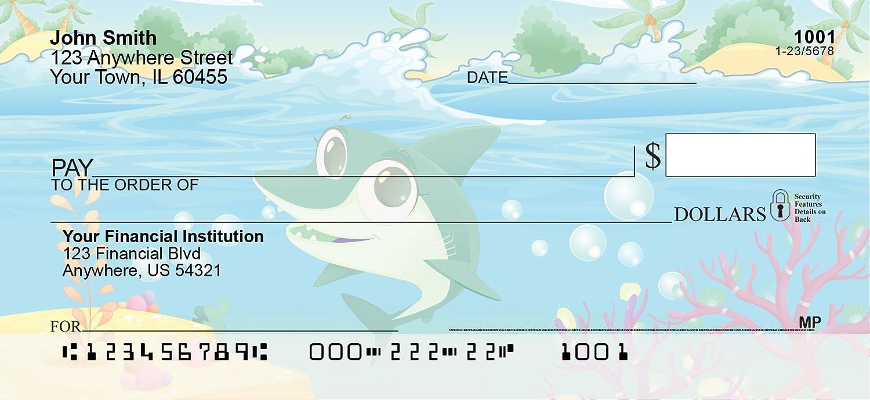 Cute Marine Life Personal Checks 1 Box Duplicates