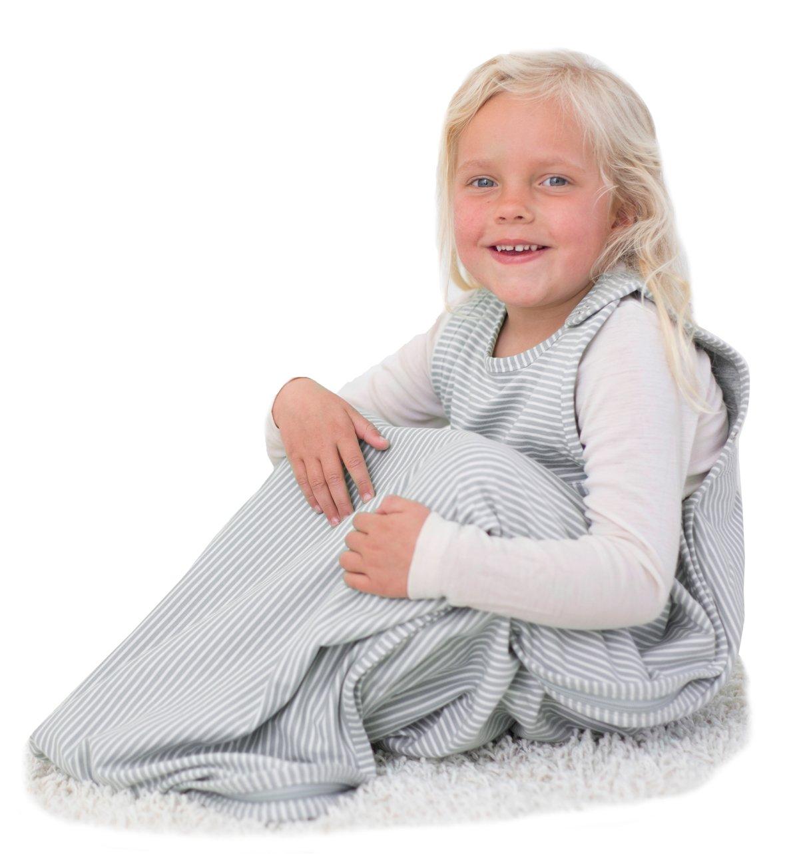 Merino Kids Baby Sleep Bag for Toddlers 2-4 Years, Turtle Dove by Merino Kids
