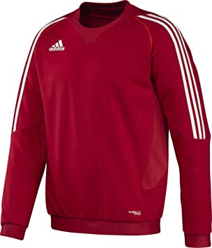 adidas Pullover T12 Team Crew Sweater Männer X13123 - Sudadera de pesca para hombre, rojo/blanco, 198: Amazon.es: Deportes y aire libre