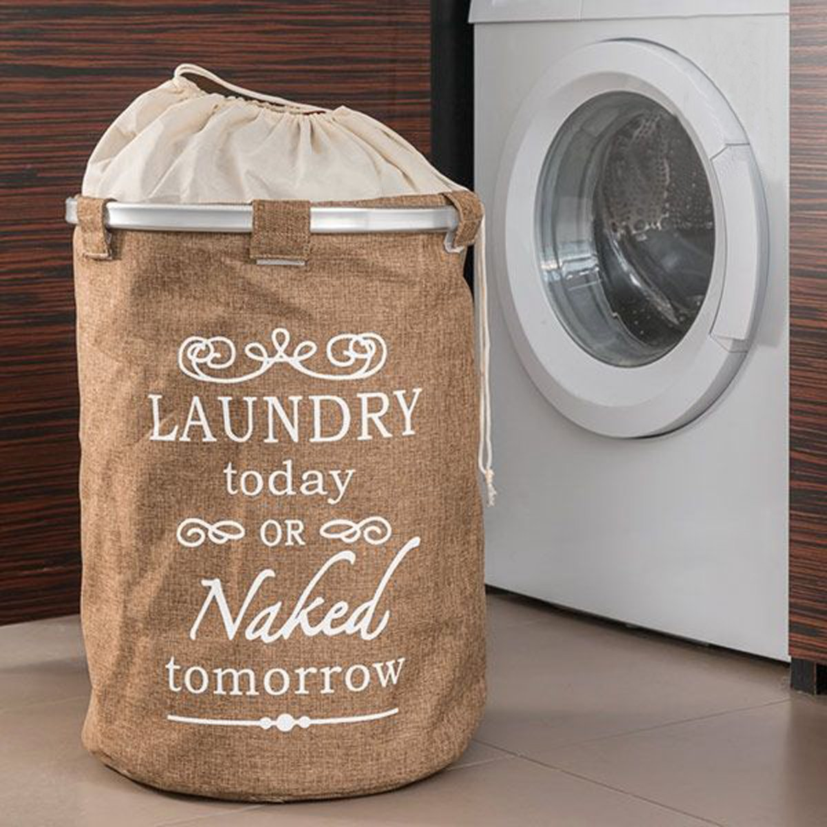 Wäschesack Stern Wäschekorb Wäschesammler Wäschenetz Wäschetonne Laundry