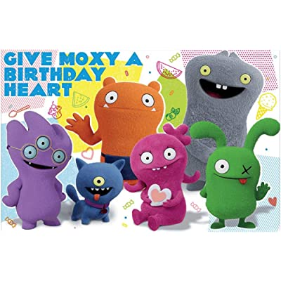 """UglyDolls Movie"" Party Game Set, 10 Pc.: Toys & Games"