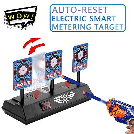 Auto Reset Digital Target Shooting Scoring For Nerf Guns Electronic Targets