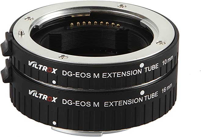 Metal Auto Focus AF Macro Extension Tube Lens Adapter Ring for Canon EOS MR