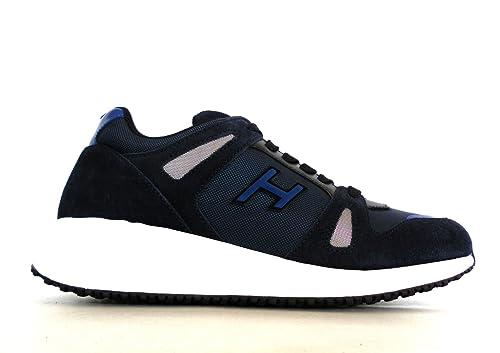 Hogan Sneaker Interactive N20 Blu Uomo 9œ  Amazon.it  Scarpe e borse 4b96a824e83