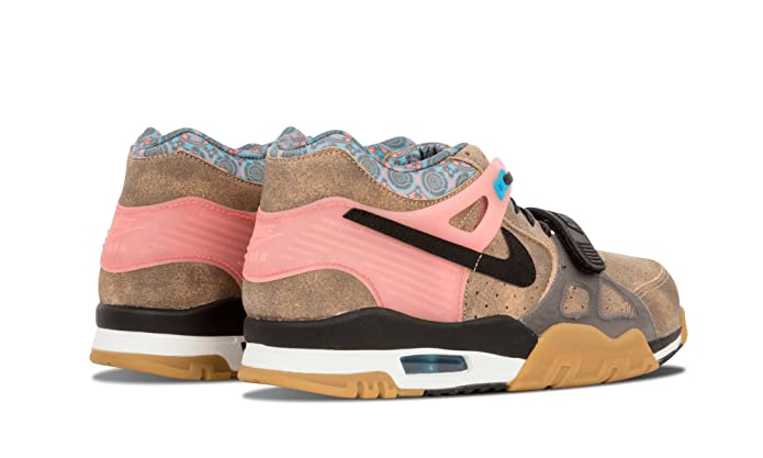 timeless design 2a8b5 4cc19 Amazon.com  NIKE Air Trainer 3 PRM QS Mens Cross Training Shoes 709989-201  Vachetta Tan Black-Hot Lava-Blue Lagoon 11 M US  Shoes