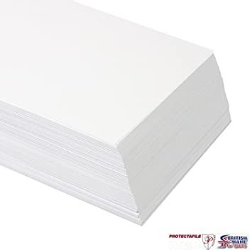 100 Sheets A3 250gsm White Card - Premium Thick Printing Paper Suitable for  All Printers