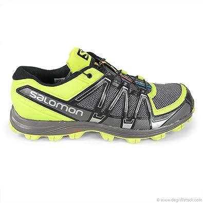 Zapatillas de Running Verdes Fellraiser Hombre Salomon, Verde (Verde), 46 2/3: Amazon.es: Zapatos y complementos