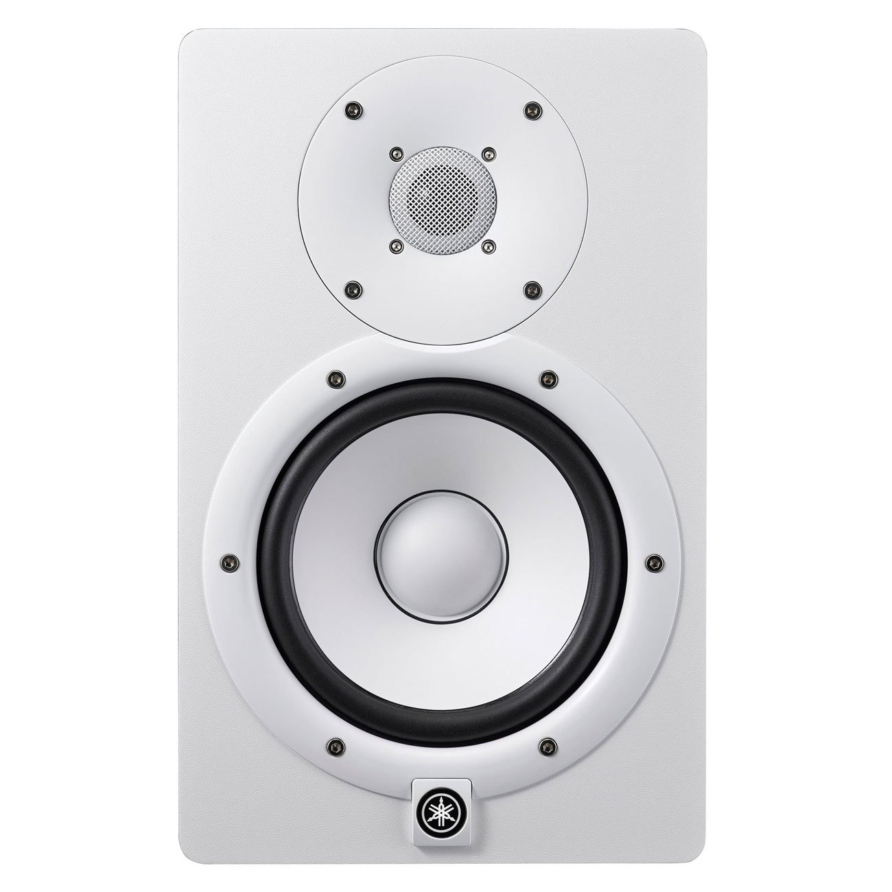 Yamaha HS7 Active Studio Monitor (Pair) White with 1 Year Free Extended Warranty