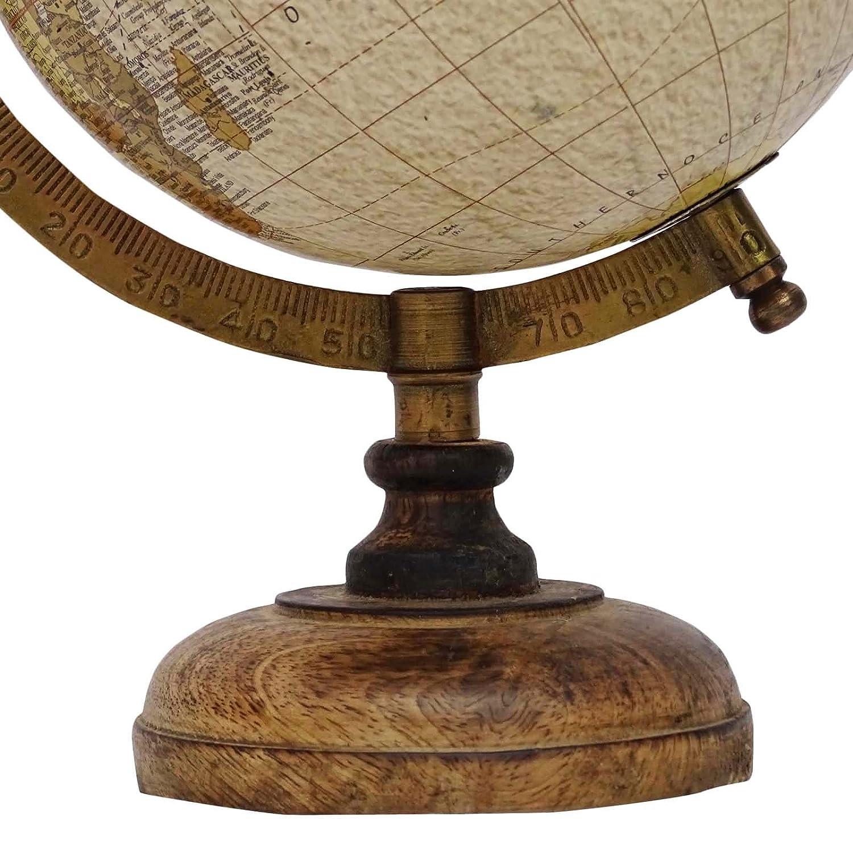 Medium Rotating bureau Globe World Ocean Terre Tableau D/écor G/éographie Globes 13