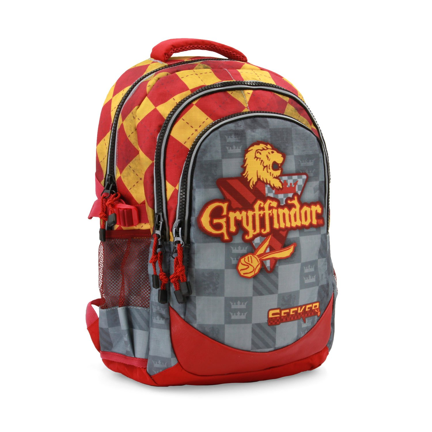 Harry Potter Quidditch Gryffindor-Running HS Rucksack Sac à Dos Loisir, 21 liters, Rouge Karactermania 37635