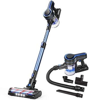 APOSEN H251 Blue Cordless Stick Vacuum Cleaner