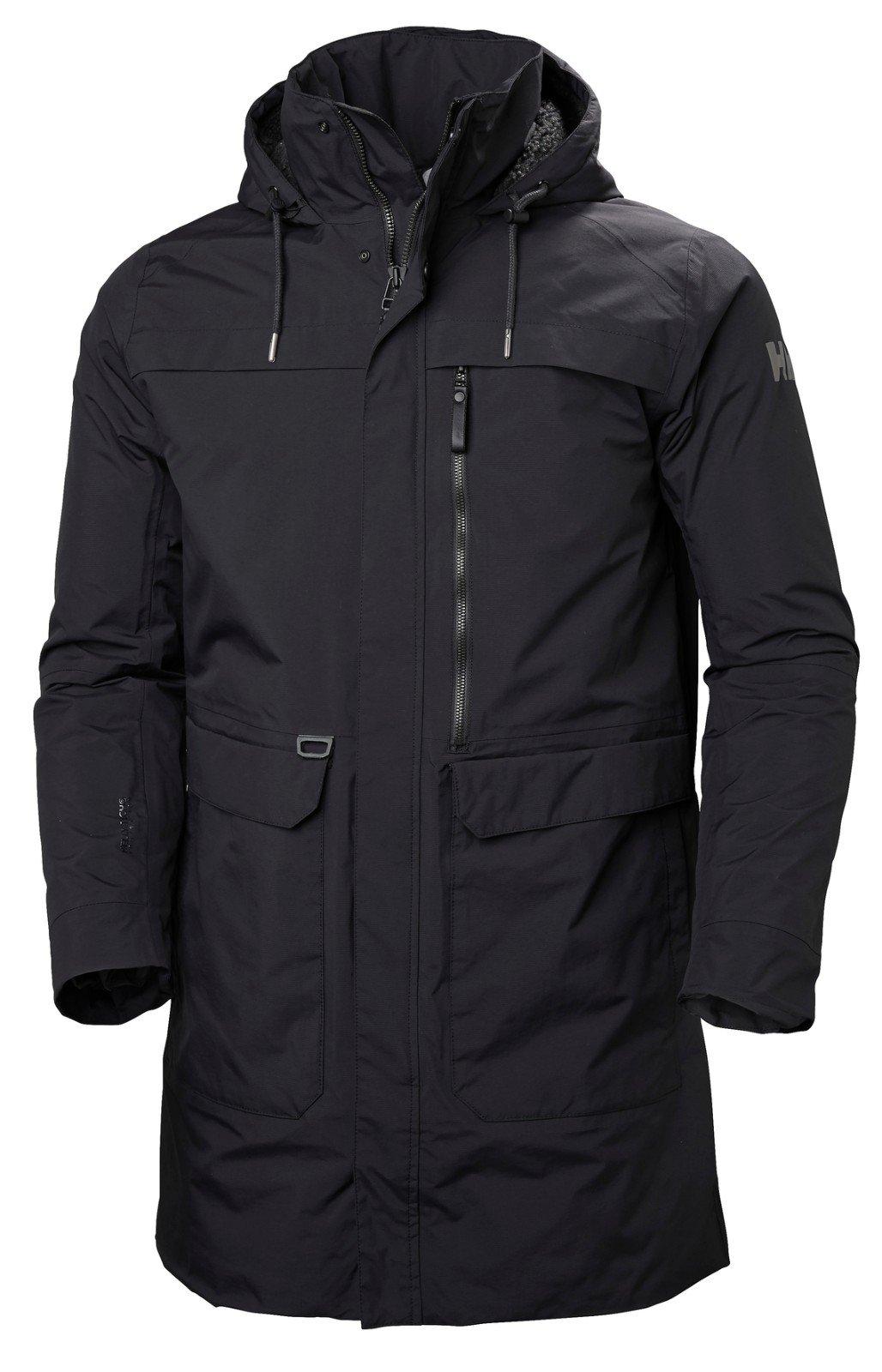 Helly Hansen Men's Waterville Coat, Black, Small