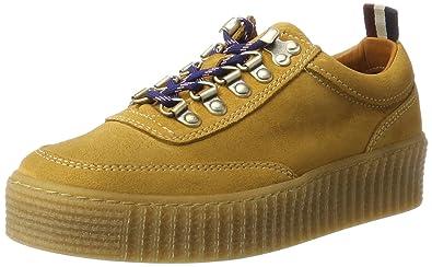 Tommy Hilfiger Sneaker »K1385ELLY 1B«, gelb, Spruce Yellow
