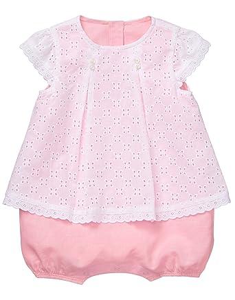 bc382229db3 Amazon.com  Gymboree Baby Girl Short Sleeve One-Piece Bubble Romper ...